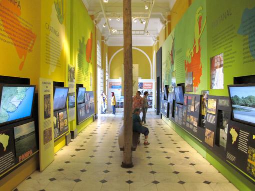 SAO PAULO, BRASIL - janeiro de 2012 - Imagens do Museu Catavento Cultural.