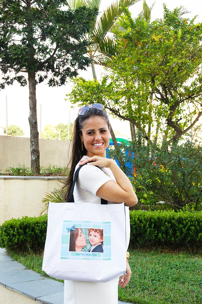 Bolsa personalizada com foto