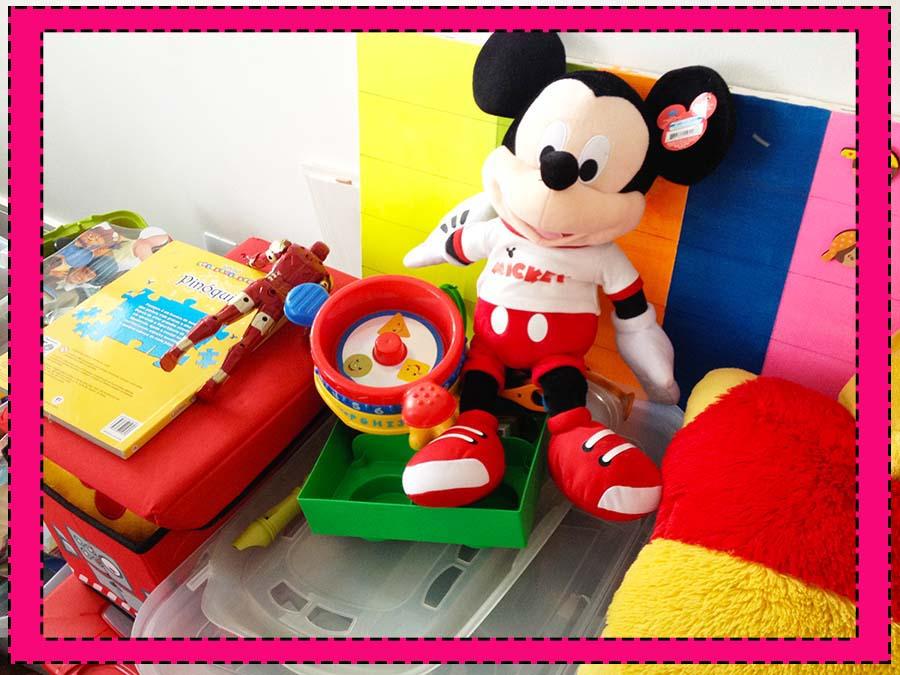 organizando quarto de brinquedos