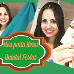 MEU PORTA LIVRO ARTESANAL - QUINTAL FESTAS