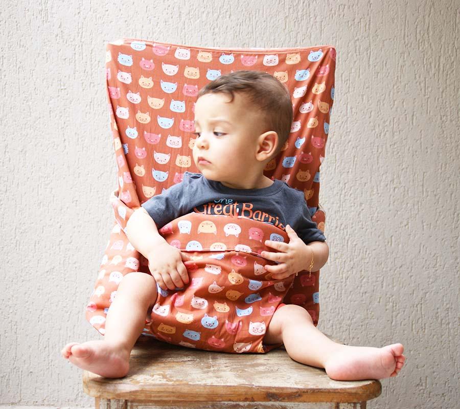 Assento de bebê portátil