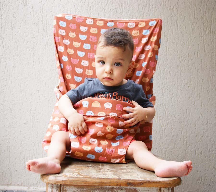 Assento infantil portátil