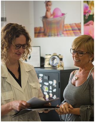 Anne Gueddes e Simone Silvério  Foto: Divulgação