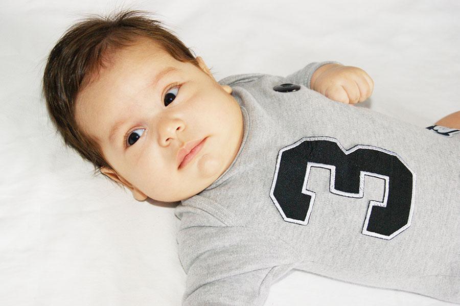 três meses do bebê
