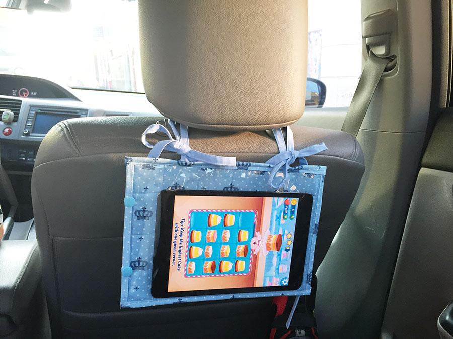 Porta Ipad para carro