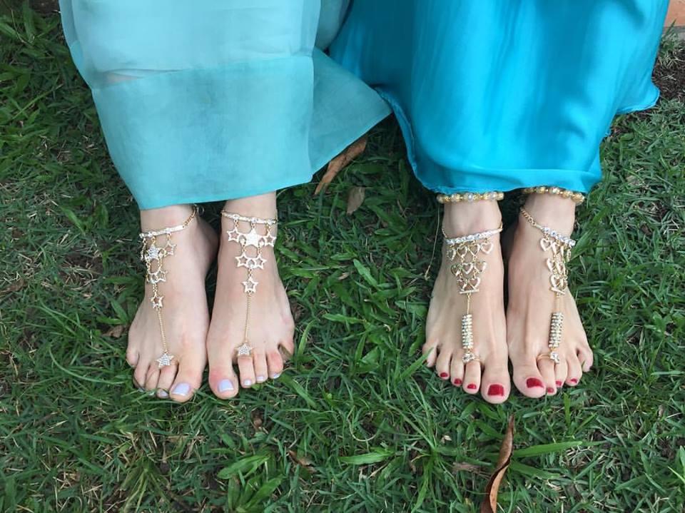 calçado casamento na praia