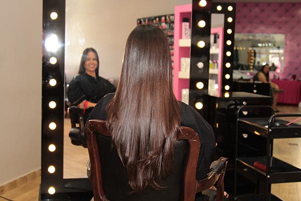 cabelo longo castanho