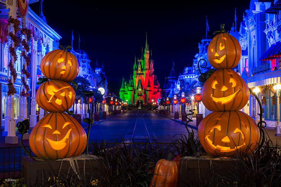 halloween Walt Disney World