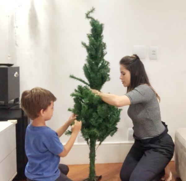 árvore de natal disney
