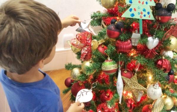 decoração disney natal