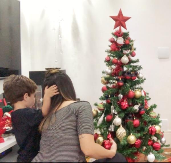 decoração natal barata