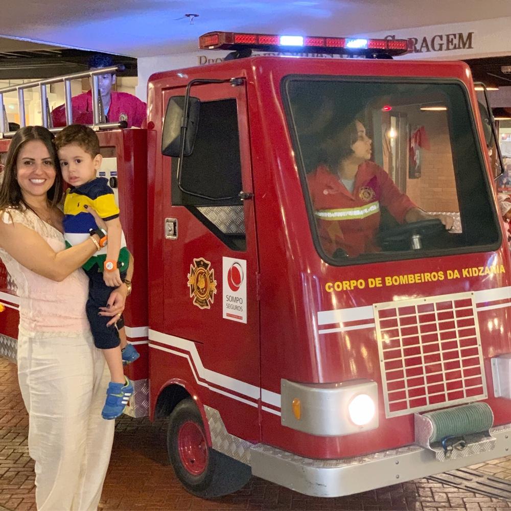 bombeiro kidzania